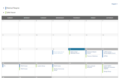 calendar screen capture