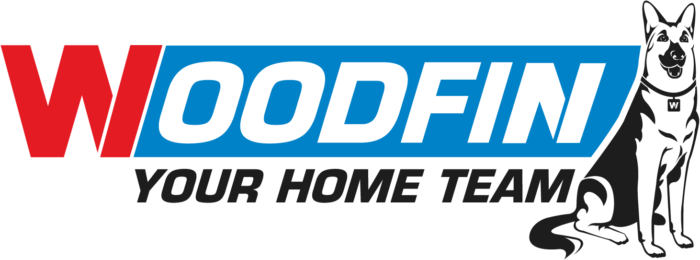 Woodfin: Your Home Team Logo